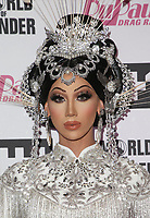"LOS ANGELES, CA - MAY 13: Plastique Tiara, at ""RuPaul's Drag Race"" Season 11 Finale Taping at The Orpheum Theatre in Los Angeles, California on May 13, 2019. <br /> CAP/MPIFM<br /> ©MPIFM/Capital Pictures"