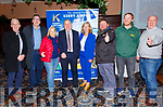 Pictured at Kerry Airports announcement of their new Manchester Route in the King of Kerry Hotel on Wednesday 12th February were l-r; Gerald Kennedy(The Moorings & Bridge Bar Portmagee), Patrick Sugrue(Skellig Six18), Cllr. Norma Moriarty, John Mulhern CEO Kerry Airport, Josephine O'Driscoll Failte Ireland, Hugh Horgan(Cahersiveen Music Festival) James Murphy(Portmagee Whiskey) & Colm Healy(Skellig Chocolates).