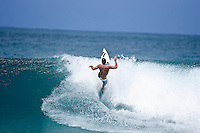 Andy Irons (Haw) surfing Gums on the North Shore, Haleiwa, Oahu, Hawaii..Photo: Joliphotos.com