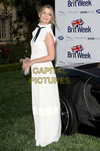 "Mischa Barton.7th Annual BritWeek Festival ""A Salute To Old Hollywood"" Launch Party held at the British Consul General's Residence, Los Angeles, California, USA..April 23rd, 2013.full length sleeveless side dress.CAP/ADM/KB.©Kevan Brooks/AdMedia/Capital Pictures"