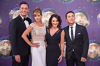Craig Revel Horwood, Darcey Bussell, Shirley Balass &amp; Bruno Tonioli at the launch of the new series of &quot;Strictly Come Dancing&quot; at New Broadcasting House, London, UK. <br /> 28 August  2017<br /> Picture: Steve Vas/Featureflash/SilverHub 0208 004 5359 sales@silverhubmedia.com