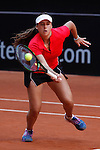 Egypt tennis player Dalila Said during Tennis Junior Fed Cup in Madrid, Spain. September 30, 2015. (ALTERPHOTOS/Victor Blanco)