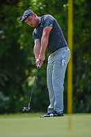 Bryson DeChambeau (USA) watches his putt on 7 during round 2 of the 2019 Charles Schwab Challenge, Colonial Country Club, Ft. Worth, Texas,  USA. 5/24/2019.<br /> Picture: Golffile   Ken Murray<br /> <br /> All photo usage must carry mandatory copyright credit (© Golffile   Ken Murray)