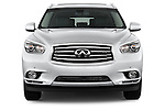 Straight front view of a 2014 Infiniti QX60