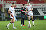 Ulster waterboy Paddy Jackson.<br /> Guiness Pro12<br /> Ospreys v Ulster<br /> 20.12.14<br /> ©Steve Pope -SPORTINGWALES
