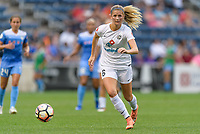Bridgeview, IL - Sunday August 20, 2017: Katie Bowen during a regular season National Women's Soccer League (NWSL) match between the Chicago Red Stars and FC Kansas City at Toyota Park.