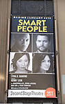 'Smart People' - Theatre Marquee