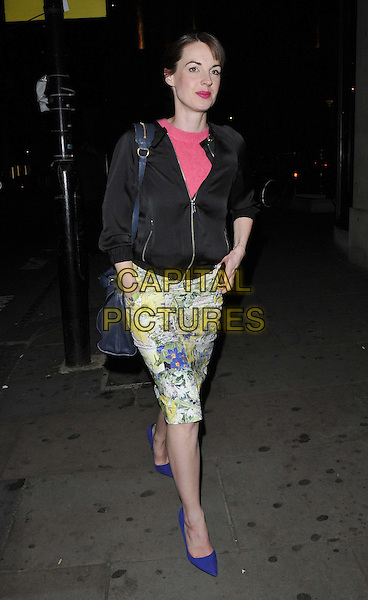 LONDON, ENGLAND - APRIL 15: Jessica Raine attends the Baileys Feaster Egg Hunt event, Harvey Nichols London, Knightsbridge, on Tuesday April 15, 2014 in London, England, UK.<br /> CAP/CAN<br /> &copy;Can Nguyen/Capital Pictures