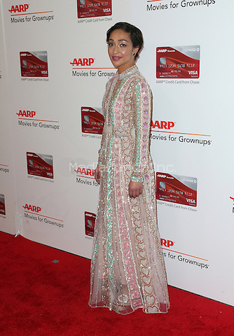 Beverly Hills, CA - FEBRUARY 06: Ruth Negga, At 16th Annual AARP The Magazine's Movies For Grownups Awards, At The Beverly Wilshire Four Seasons Hotel In California on February 06, 2017. Credit: Faye Sadou/MediaPunch