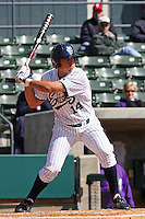 Jeff Cusick of the University of California at Irvine at the plate in a game against James Madison University at the Baseball at the Beach Tournament held at BB&T Coastal Field in Myrtle Beach, SC on February 28, 2010.