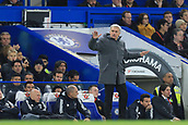 5th November 2017, Stamford Bridge, London, England; EPL Premier League football, Chelsea versus Manchester United; Manchester Utd Manager Jose Mourinho showing his frustration