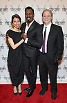 Sarah Stern, Colman Domingo and Douglas Aibel attends the Vineyard Theatre Gala honoring Colman Domingo at the Edison Ballroom on May 06, 2019 in New York City.