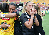 New Zealand's Krystal Rota is dejected after they lost the women's Rugby League World Cup final between Australia and New Zealand, Suncorp Stadium, Brisbane, Australia, 2 December 2017. Copyright Image: Tertius Pickard / www.photosport.nz MANDATORY CREDIT/BYLINE : SWPix.com/PhotosportNZ