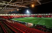 General View at  Keepmoat Stadium - Doncaster<br /> <br /> <br /> Photographer Rachel Holborn/CameraSport<br /> <br /> The EFL Sky Bet League One - Doncaster Rovers v Blackpool - Tuesday 27th November 2018 - Keepmoat Stadium - Doncaster<br /> <br /> World Copyright &copy; 2018 CameraSport. All rights reserved. 43 Linden Ave. Countesthorpe. Leicester. England. LE8 5PG - Tel: +44 (0) 116 277 4147 - admin@camerasport.com - www.camerasport.com