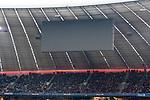10.03.2018, Allianz Arena, Muenchen, GER, 1.FBL,  FC Bayern Muenchen vs. Hamburger SV, im Bild die noerdliche Anzeigetafel bleit wegen Technischen Problemen aus <br /> <br />  Foto &copy; nordphoto / Straubmeier