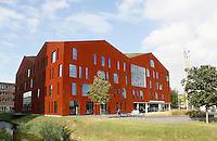 Nederland Amsterdam 2016 .  Universiteit van Amsterdam. Science Park. Amsterdam University College. Foto Berlinda van Dam / Hollandse Hoogte