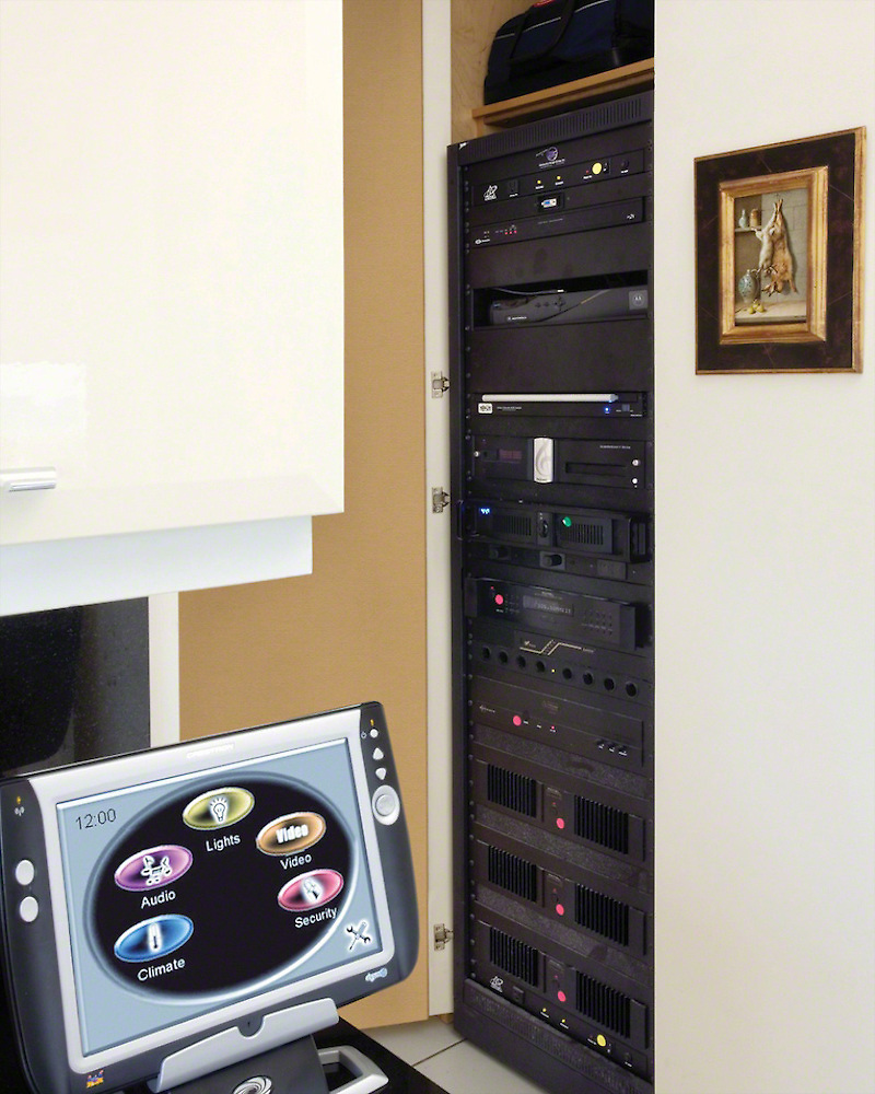 Whole House Control Closet Rack