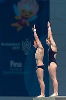 Training Session .  <br /> Diving 13/07/2017 <br /> XVII FINA World Championships Aquatics<br /> Duna Arena Budapest Hungary  <br /> Photo Andrea Staccioli/Deepbluemedia/Insidefoto