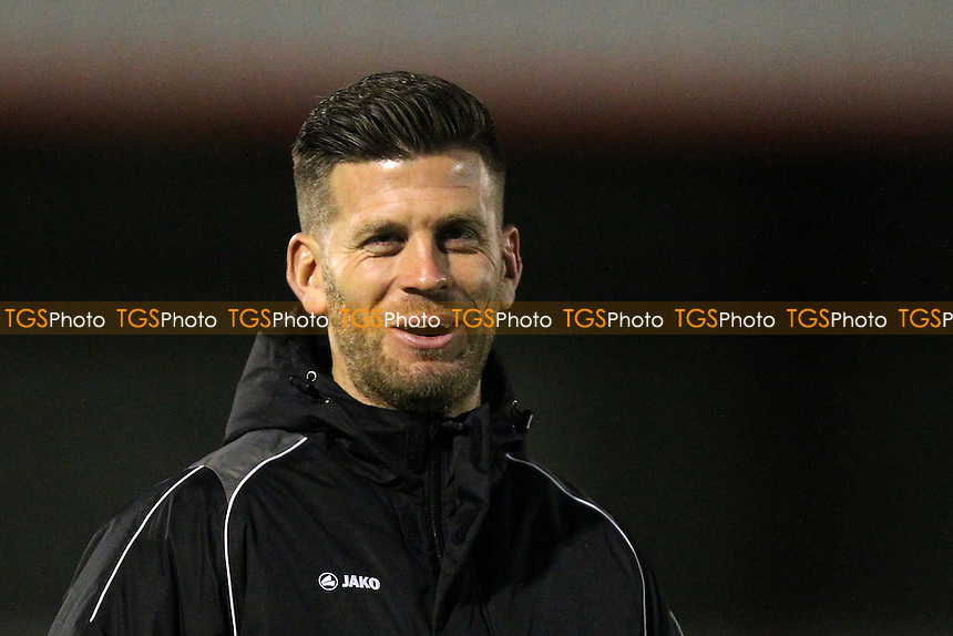 Boreham Wood manager Luke Garrard during Boreham Wood vs Northwich Victoria, Emirates FA Cup 1st Round Replay Football at Meadow Park