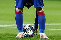 27th November 2019; Camp Nou, Barcelona, Catalonia, Spain; UEFA Champions League Football, Barcelona versus Borussia Dortmund; Leo Messi sets up to take a direct free kick - Editorial Use