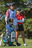 Lindy Duncan (USA) looks over her tee shot on 3 during round 1 of the 2018 KPMG Women's PGA Championship, Kemper Lakes Golf Club, at Kildeer, Illinois, USA. 6/28/2018.<br /> Picture: Golffile | Ken Murray<br /> <br /> All photo usage must carry mandatory copyright credit (&copy; Golffile | Ken Murray)