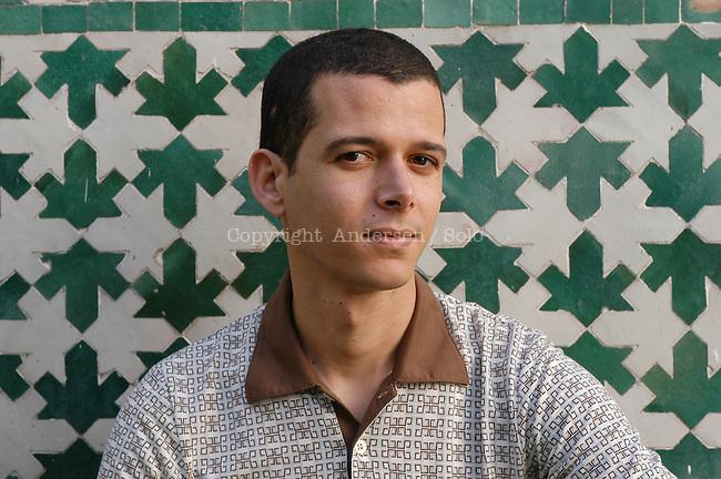 Moroccan writer Abdellah Taia in 2005.