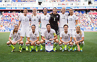 USWNT vs Korea Republic, May 30, 2015