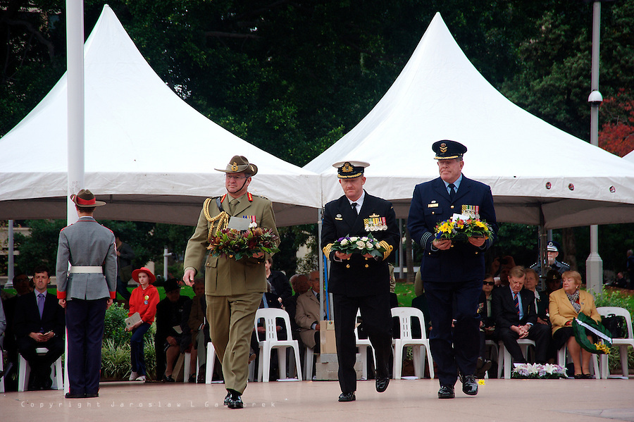 Third Commemoration Service for Aboriginal and Torres Strait Islander Veterans.<br />