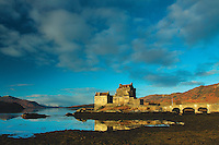 Eilean Donan Castle and Loch Duich, Dornie, Highland<br /> <br /> Copyright www.scottishhorizons.co.uk/Keith Fergus 2011 All Rights Reserved