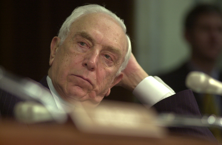 fcc5/011403 - Sen. Frank Lautenberg, D-NJ, at a full committee hearing on competition in the telecommunications industry.