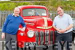 John and Jerimiah Nolan, Castleisland with their 1947 Ford V8 truck which they have restored at the Killarney Valley Classic and Vintage show on Sunday
