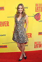 www.acepixs.com<br /> <br /> April 26 2017, LA<br /> <br /> Erinn Hayes arriving at the premiere of 'How To Be A Latin Lover' at the ArcLight Cinemas Cinerama Dome on April 26, 2017 in Hollywood, California. <br /> <br /> By Line: Peter West/ACE Pictures<br /> <br /> <br /> ACE Pictures Inc<br /> Tel: 6467670430<br /> Email: info@acepixs.com<br /> www.acepixs.com