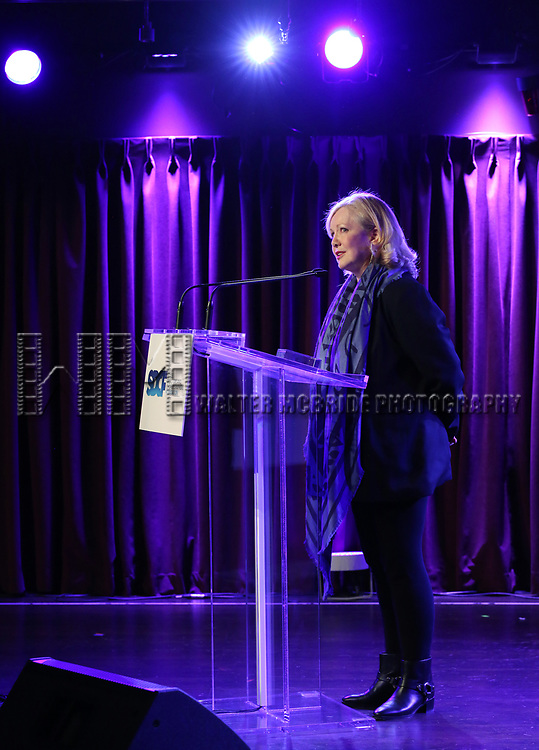 Susan Stroman on stage during the Second Annual SDCF Awards, A celebration of Excellence in Directing and Choreography, at the Green Room 42 on November 11, 2018 in New York City.