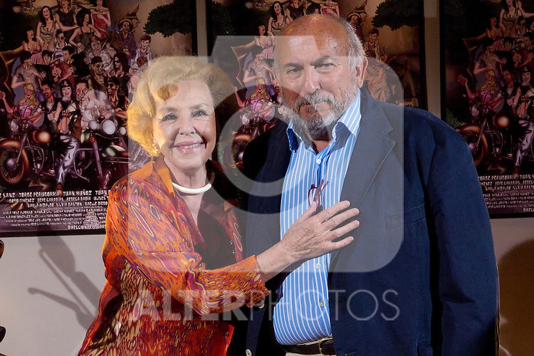 "30.05.2012. Premiere at the Callao Cinema in Madrid of the spanish movie ""Clara is not woman's name"" A comedy directed by Pepe Carbajo. In the image Maria Jose Alfonso and Pepe Carbajo (Alterphotos/Marta Gonzalez)"