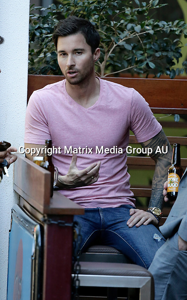 2 OCTOBER 2015 SYDNEY <br /> AUSTRALIA<br /> <br /> NON EXCLUSIVE <br /> <br /> Michael Turnball pictured enjoying a beer and a bit of attention from a Queensland paparazzo.<br /> <br /> *ALL WEB USE MUST BE CLEARED*<br /> <br /> Please contact prior to use:  <br /> <br /> +61 2 9211-1088 or email images@matrixmediagroup.com.au <br /> <br /> Note: All editorial images subject to the following: For editorial use only. Additional clearance required for commercial, wireless, internet or promotional use.Images may not be altered or modified. Matrix Media Group makes no representations or warranties regarding names, trademarks or logos appearing in the images.