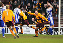 09/02/2008    Copyright Pic: James Stewart.File Name : sct_jspa09_motherwell_v_kilmarnock.DAVID CLARKSON CELEBRATES AFTER HE HEADS HOME MOTHERWELL'S LATE WINNER.James Stewart Photo Agency 19 Carronlea Drive, Falkirk. FK2 8DN      Vat Reg No. 607 6932 25.Studio      : +44 (0)1324 611191 .Mobile      : +44 (0)7721 416997.E-mail  :  jim@jspa.co.uk.If you require further information then contact Jim Stewart on any of the numbers above........