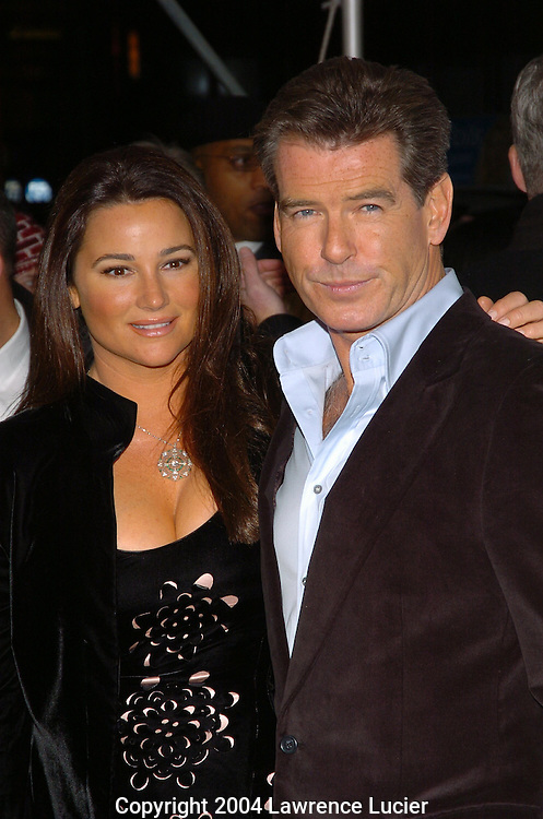 Keely Shay Smith and Pierce Brosnan