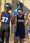 Blach Junior High at Egan Junior High girls softball, September 24, 2012.