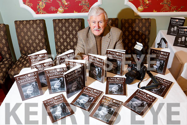 John Cleary launches his 2nd book  'Twas only like Yesterday' (archive of images from the 1980's) in the Imperial Hotel on Tuesday
