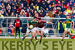 Paul Murphy Kerry in action against Gareth Bradshaw Galway in the Allianz Football League Division 1 Round 4 match between Kerry and Galway at Austin Stack Park, Tralee, Co. Kerry.
