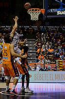 Pumpria<br /> Liga Endesa ACB - 2014/15<br /> J6<br /> Valencia Basket vs Rio Natura Monbus Obradoiro
