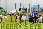 Kilmoyley's Daniel Collins gets away from the Crotta defence  in the Garvey's Super Valu Senior County Hurling Championship Round 1 replay Kilmoyley V Crotta O'Neill's in Causeway on Sunday