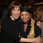 """Susan Birkenhead and Micki Grant attends the Opening Night performance afterparty for ENCORES! Off-Center production of """"Working - A Musical""""  at New York City Center on June 26, 2019 in New York City."""