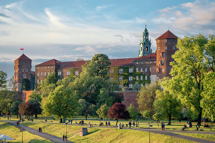 Zamek Królewski na Wawelu w Krakowie, Polska<br /> Wawel Royal Castle in Cracow, Poland