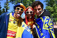 Clermont fans before the European Champions Cup semi final match between AS Clermont and Leinster on April 23, 2017 in Clermont-Ferrand, France. (Photo by Dave Winter/Icon Sport)