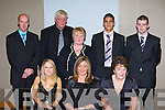 Wayne Gutrie Tralee who won the Munster Minor footballer of the year and Tom Condon Knockaderry, Limerick who won the Munster Intermediate hurler of the year at the Munster GAA Council awards night in the Malton hotel, Killarney on Saturday night front row l-r: Miriam McGrath Knockaderry, Limerick, Maria Gutrie, Betty Tobin Tralee. Back row: Sean Condon Knockaderry, Roger Gutrie, Christina Condon, Wayne Gutrie Tralee and Tom Condon   Copyright Kerry's Eye 2008