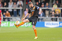 Michael Nelson of Barnet during the Sky Bet League 2 match between Barnet and Grimsby Town at The Hive, London, England on 29 April 2017. Photo by David Horn.