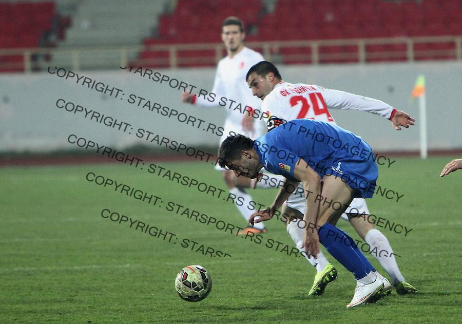 Fudbal Super liga season 2014-2015<br /> Radnicki (Nis) v Vojvodina<br /> Aleksandar Jovanovic Radnicki Nis<br /> Nis, 21.03.2015.<br /> foto: Sasa Djordjevic/Starsportphoto &copy;