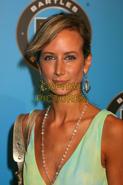 LADY VICTORIA HERVEY .Bartles & Jaymes Poolside BBQ at the Roosevelt Hotel, Hollywood, California, USA..May 10th, 2007.headshot portrait beads beaded necklace gold anchor earrings .CAP/ADM/BP.©Byron Purvis/AdMedia/Capital Pictures