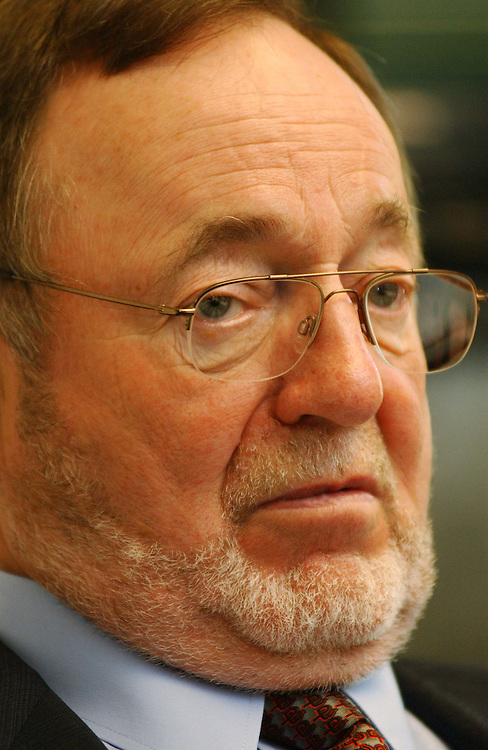 10/08/04.YOUNG--House Transportation Chairman Don Young, R-Alaska, during an interview in his office..CONGRESSIONAL QUARTERLY PHOTO BY SCOTT J. FERRELL